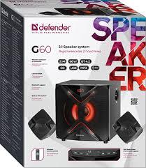 <b>Акустическая система 2.1 Defender</b> G60 60Вт, BT/FM/MP3/SD ...