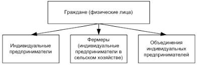 Индивидуальный предприниматель предпринимательская деятельность  Виды индивидуальных предпринимателей