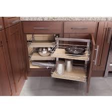 Blind Corner Cabinet Pull Out Shelves Corner Organizers Shop For Blind Corner Kitchen Cabinet 27