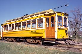 gomaco trolley pany built the first closed double truck trolley car in the united states since the early 1900s this authentic replica has been