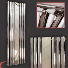 mirror radiator cover. brecon-oval-tube-vertical-amp-horizontal-designer-chrome- mirror radiator cover