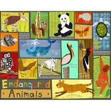 Oopsy Daisy - <b>Endangered Animals</b> Canvas <b>Wall Art</b> 30x24, Amy ...
