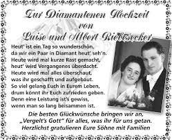 Gratulation Zur Diamantenen Hochzeit Nostalgie Postkarten