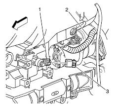 Repair instructions knock sensor replacement 2006 hummer h3