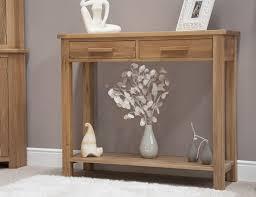 hall table furniture. Eton Solid Oak Modern Furniture Hallway Hall Console Table EBay