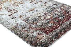 red and tan area rugs chili 8 ft x rug yourlegacy