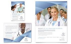 Hospital Flyer Template Nursing School Hospital Flyer Ad Template Design 2