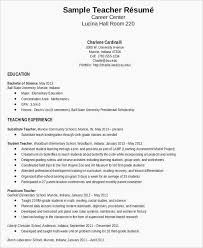 Resume Templates Doc Free Download With Standard Resume Template Doc