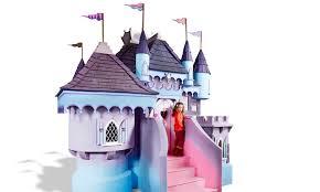 pretty princess castle playhouse