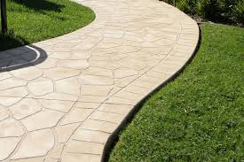 stamped concrete poured concrete patio natural looking82 patio