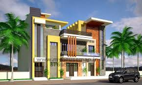 front elevation of indian houses building design