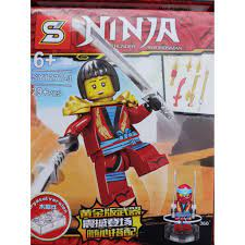 Đồ chơi lắp ráp xếp hình logo phần season 10 ninja nya sy1277-3.