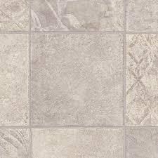 shale grey luxury vinyl tile flooring 24 sq ft case 26013 the home depot