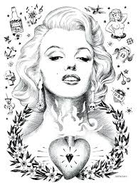 Marilyn Monroe Coloring Pages Youth Etripoli Of P Diywordpressme
