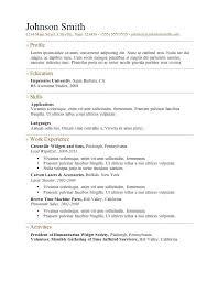 Microsoft Word Mac Resume Template – Resume Tutorial Pro