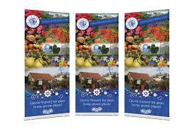 cleeve nursery garden center roller banner 1