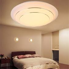 24w round led ceiling light fixture lighting flush mount pendant lamp bedroom
