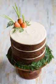 Carrot Cake With Brown Sugar Cream Cheese The Little Epicurean