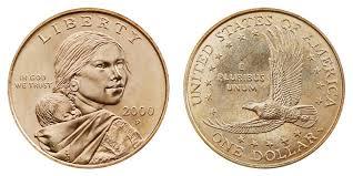Sacagawea Gold Dollar Value Chart 2000 P Sacagawea Dollar Golden Dollar Coin Value Prices