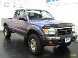 1999 Horizon Blue Metallic Toyota Tacoma TRD Extended Cab 4x4 ...