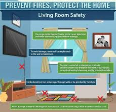 fire prevention week living room safety