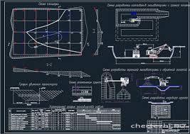 Курсовые ТСП Технология возведения зданий ТВЗ Чертежи РУ Курсовой проект Производство работ нулевого цикла