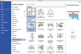 Create Organizational Chart On Mac
