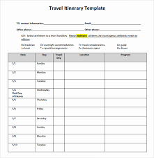 Business Trip Planner Business Travel Itinerary Template Unique Business Trip Planner