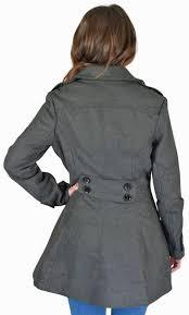 urban republic juniors long wool peacoat plus size avail 2