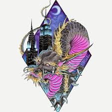 Awesome Sticker Design Rising Dragon Tattoos Nyc Check Out This Awesome Sticker