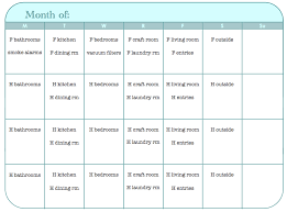 8 Best Photos Of Monthly Exercise Chart Printable