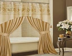 shower curtain and valance set
