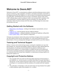 Keri Systems Doors.NET Manual User Manual | 602 pages