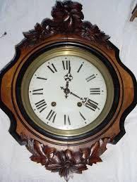 french wall clock ca 1890
