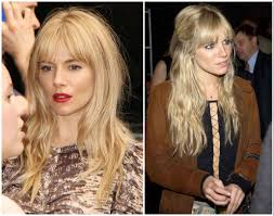 Middle Split Hair Style hair inspiration middle part bangs medium hair styles ideas 19300 1638 by wearticles.com
