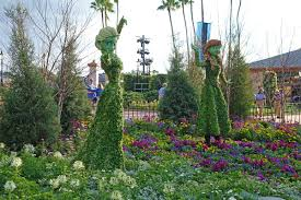 disney flower and garden. Guide To Disney World Events In 2018 - Elsa \u0026 Anna Toparies Flower And Garden
