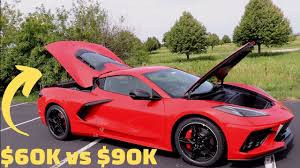 Note when i raced a corvette with a lt1 we were head to head, the corvette was stock and my only modification was a cold air intake. 2020 Corvette C8 Trim Level Hands On Comparison 1lt Vs 2lt Vs 3lt Youtube