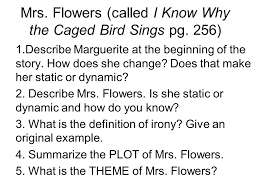 mrs flowers called i know why the caged bird sings pg  mrs flowers called i know why the caged bird sings pg