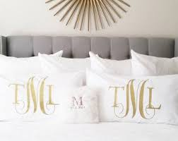 custom pillow covers. Contemporary Covers Personalized Monogram Pillow Case  Bedding Pillows Custom Covers  Queen And King Size Beds Decorative Accent Cover On Covers