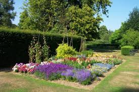 Garden & Landscape:Contemporary Flower Garden Design Idea Contemporary  Flower Garden Design Idea