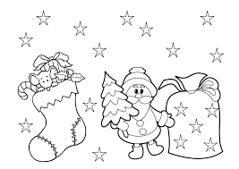 Christmas Coloring Pages Printable Animals Pages L