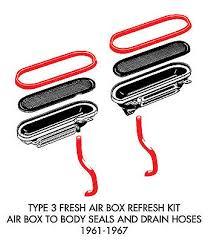 vw type 3 zeppy io new vw type 3 fresh air box refresh kit 1961 1967