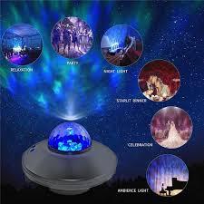 Colourful USB <b>LED Galaxy</b> Projector <b>Starry Night</b> Light Laser ...