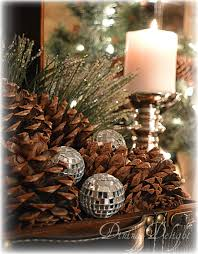 Pine Cone Candles Dining Delight Pine Cones Candles For Christmas