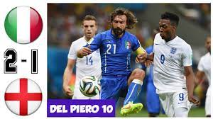 Italy vs England 2-1, All Goals and ...