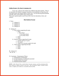 Research Paper Outline Template Apa Style An Example Of Format Doc