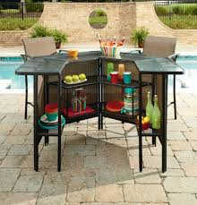 best garden oasis harrison 5 piece bar set 2 outdoor bar sets clearance