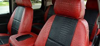 exotic seat cover options