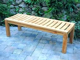 backless outdoor bench backless outdoor bench garden and table no back awesome pub furniture land within backless outdoor bench