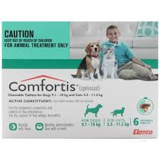 comfortis flea pill for cats. Perfect Pill Comfortis For Dogs Green 91  18Kg On Flea Pill Cats